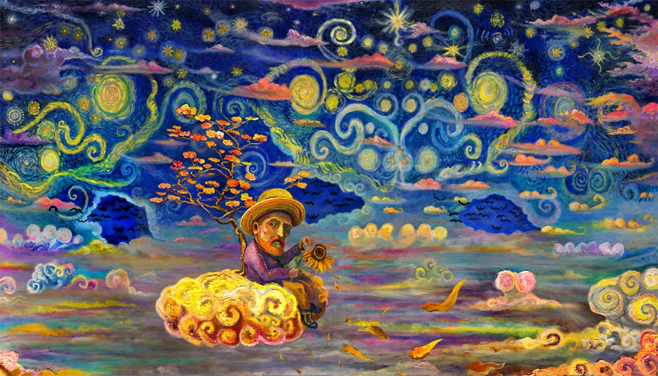 Alt text Vincent in Heaven